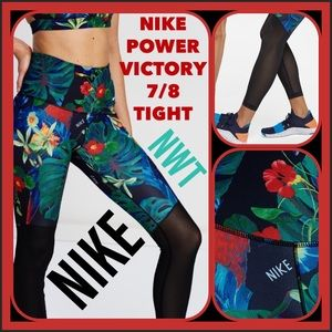 BRAND NWT Nike® Power 7/8 Hyper Femme RARE Tights!